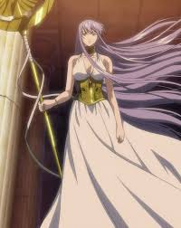 Sasha/Athena(Saint Seiya: The হারিয়ে গেছে Canvas)
