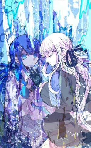 Sayaka Maizono and Kirigiri Kyoko | Danganronpa
