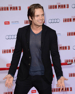 Sebastian Stan - Iron Man 3 - 2013