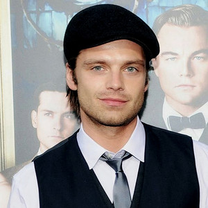 Sebastian Stan with hat The Great Gatsby