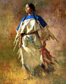 Shield of her Husband by Howard Terpning