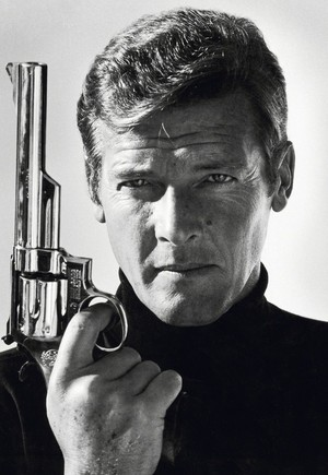Sir Roger Moore As 007