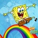 Spongebob Rainbow - spongebob-squarepants icon
