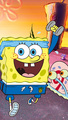 Spongebob and Gary Racing - spongebob-squarepants photo