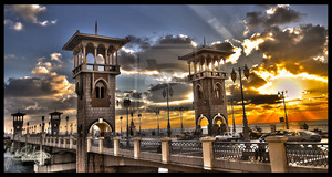 Stanly Bridge Alexandria por Yehiazz