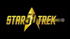星, 星级 Trek 50th Anniversary Logo