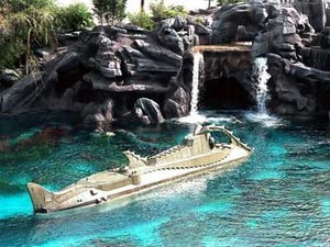 Submarine Voyage At Disneyworld