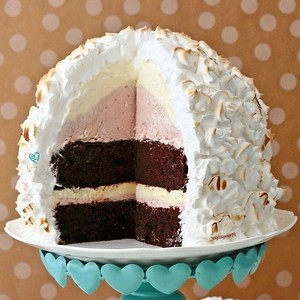 SugaryWinzy Baked Alaska イチゴ Ice Cream チョコレート Cake12