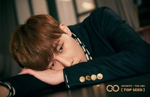 Sunggyu teaser image for 'Top Seed'