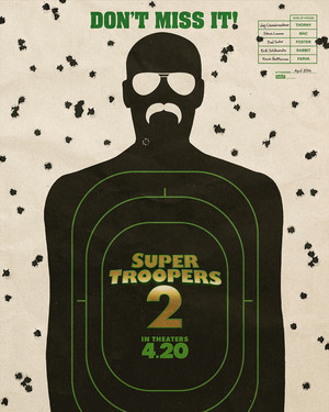Super Troopers 2 Poster - Don't Miss It!