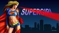 dc-comics - Supergirl   Heat Vision 1  2  wallpaper