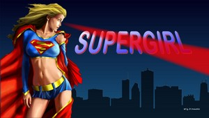 Supergirl Heat Vision 1 2