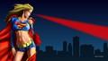 dc-comics - Supergirl   Heat Vision  2  wallpaper