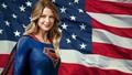 dc-comics - Supergirl   Stars   Stripes 1 wallpaper