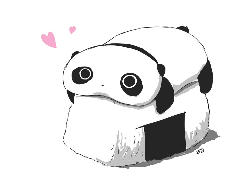 Kazygalaxy Images Sushi And Panda HD Wallpaper Background Photos