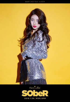 """Suzy teaser image for 2nd mini album """"Faces of Love"""""""