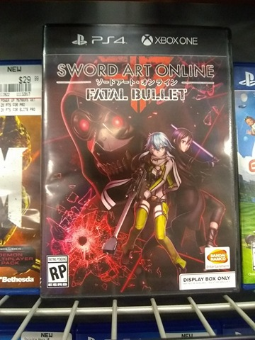 anime achtergrond entitled Sword Art Online Fatal Bullet