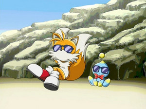 Tails and Cheese trying to be cool miles tails prower 10041031 500 374 1