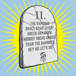 The 10 Commandments of Green Day ~ 2nd Commandment