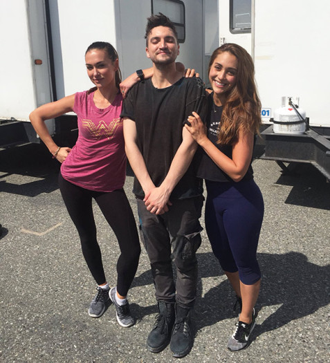 The 100 Season 5 Behind the Scenes picture