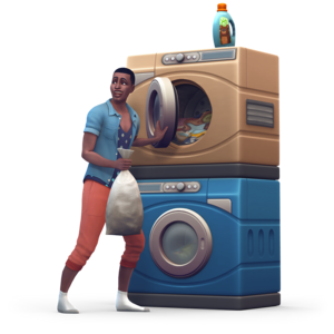 The Sims 4: Laundry jour Stuff Renders