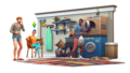 The Sims 4: Laundry siku Stuff Renders