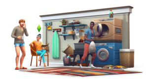 The Sims 4: Laundry دن Stuff Renders