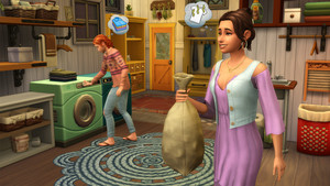 The Sims 4: Laundry jour Stuff