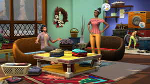 The Sims 4: Laundry 日 Stuff