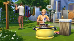 The Sims 4: Laundry día Stuff