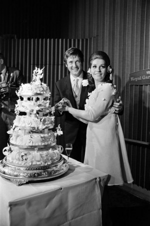 Roger And Luisa On Their Wedding dia In 1969