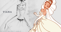 Tiana Wedding Dress design