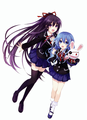 Tohka and Yoshino
