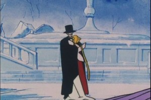 Tuxedo Mask and Usagi