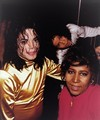 Two Music Legends  - michael-jackson photo