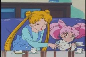 Usagi and Chibiusa