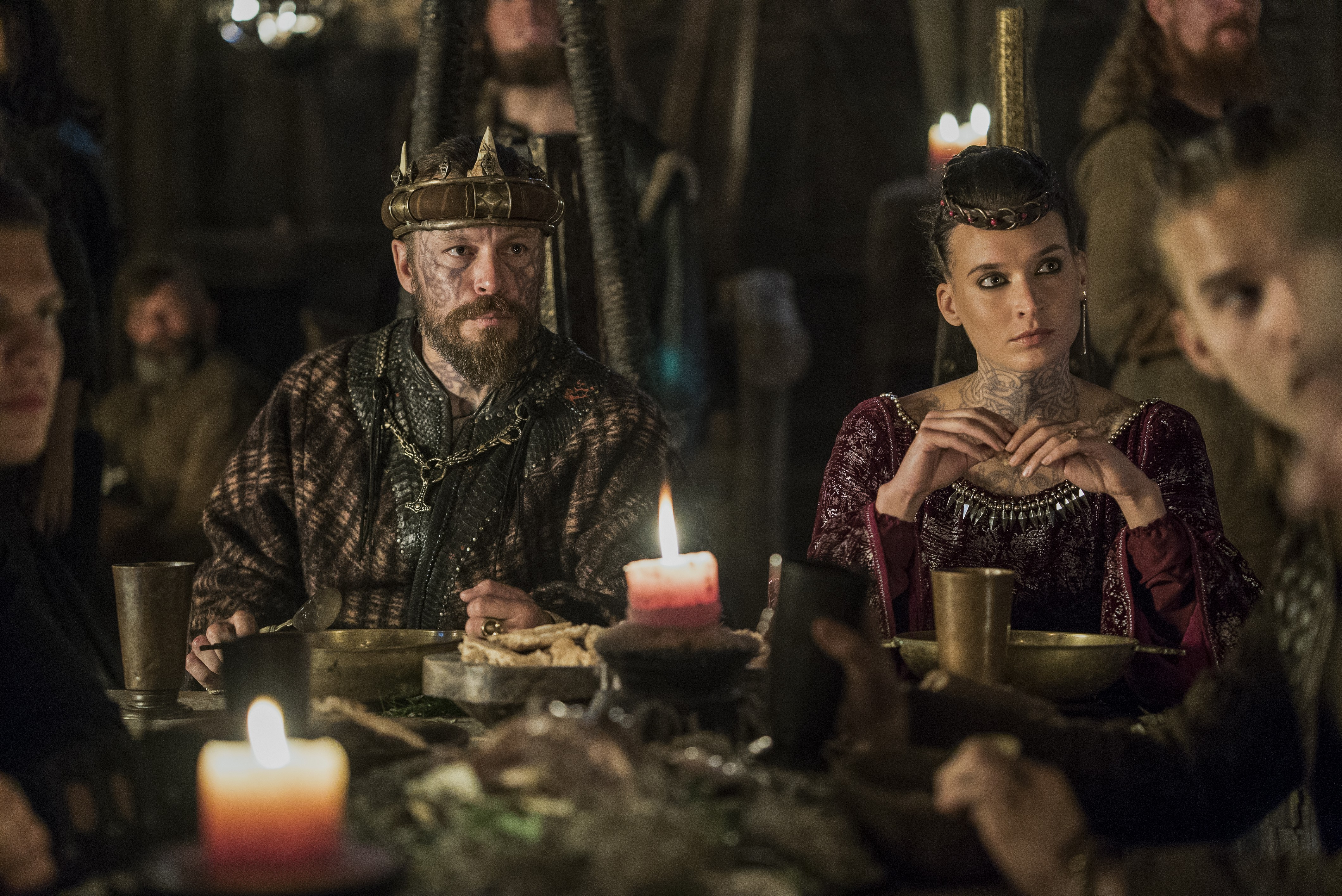 "《维京传奇》(电视剧) images vikings ""the message"" (5x06)"