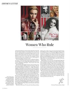 W Magazine October 2015