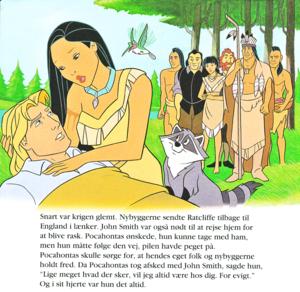 Walt ディズニー Book Scans – Pocahontas (Danish Version)