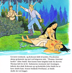 Walt 디즈니 Book Scans – Pocahontas (Danish Version)