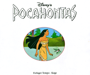Walt डिज़्नी Book Scans – Pocahontas (Danish Version)