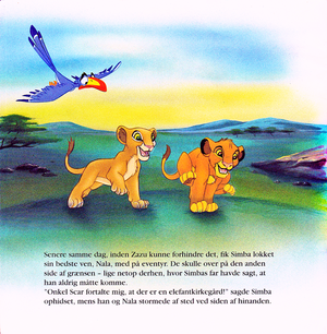 Walt 디즈니 Book Scans – The Lion King (Danish Version)