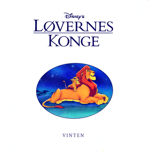 Walt Дисней Book Scans – The Lion King (Danish Version)