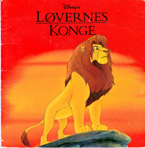 Walt Disney Book Scans – The Lion King (Danish Version)
