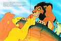Walt ডিজনি Book Scans – The Lion King: The Story of Simba (Danish Version)