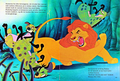 Walt डिज़्नी Book Scans – The Lion King: The Story of Simba (Danish Version)