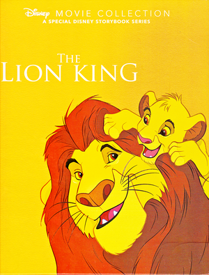 Walt ডিজনি Book Scans – The Lion King: The Story of Simba (English Version)