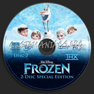 Walt Disney's Frozen 2-Disc Special Edition (2004) DVD CD 2