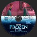 Walt Disney's Frozen Fever 2-Disc Special Edition (2004) DVD CD 2 - frozen photo