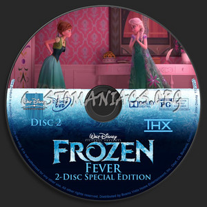Walt Disney's Frozen Fever 2-Disc Special Edition (2004) DVD CD 2